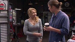 Steph Scully, Tyler Brennan in Neighbours Episode 7253