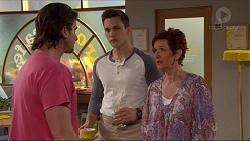 Brad Willis, Josh Willis, Susan Kennedy in Neighbours Episode 7254