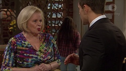 Sheila Canning, Aaron Brennan in Neighbours Episode 7254