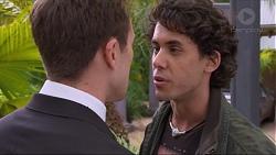 Aaron Brennan, Dean Holt in Neighbours Episode 7254