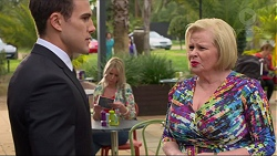 Aaron Brennan, Sheila Canning in Neighbours Episode 7254