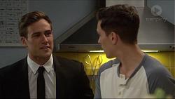 Aaron Brennan, Josh Willis in Neighbours Episode 7254