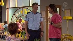 Susan Kennedy, Mark Brennan, Brad Willis in Neighbours Episode 7254