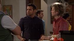 Nate Kinski, Daniel Robinson in Neighbours Episode 7255