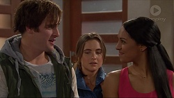 Kyle Canning, Amy Williams, Shay Daeng in Neighbours Episode 7255