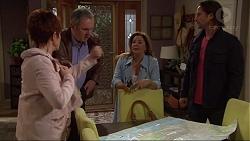 Susan Kennedy, Karl Kennedy, Terese Willis, Brad Willis in Neighbours Episode 7255