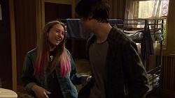 Piper Willis, Ben Kirk in Neighbours Episode 7255