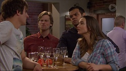 Kyle Canning, Daniel Robinson, Nate Kinski, Amy Williams in Neighbours Episode 7255
