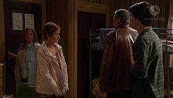 Terese Willis, Susan Kennedy, Karl Kennedy, Ben Kirk in Neighbours Episode 7256