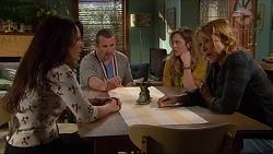 Vanessa Villante, Toadie Rebecchi, Sonya Mitchell, Steph Scully in Neighbours Episode 7256