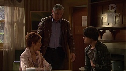 Susan Kennedy, Karl Kennedy, Ben Kirk in Neighbours Episode 7256
