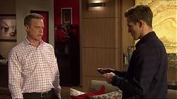 Paul Robinson, Aaron Brennan in Neighbours Episode 7256