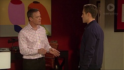 Paul Robinson, Aaron Brennan in Neighbours Episode 7257