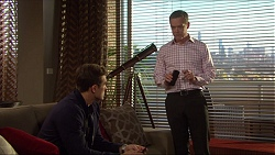 Aaron Brennan, Paul Robinson in Neighbours Episode 7257
