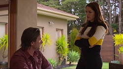 Brad Willis, Paige Novak in Neighbours Episode 7257