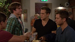 Tyler Brennan, Kyle Canning, Aaron Brennan, Mark Brennan in Neighbours Episode 7257