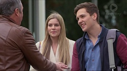 Karl Kennedy, Amber Turner, Josh Willis in Neighbours Episode 7258
