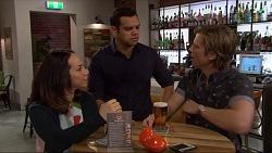 Imogen Willis, Nate Kinski, Daniel Robinson in Neighbours Episode 7258