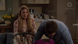 Amber Turner, Josh Willis in Neighbours Episode 7258