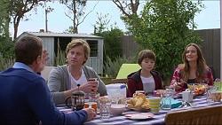 Paul Robinson, Daniel Robinson, Jimmy Williams, Amy Williams in Neighbours Episode 7259