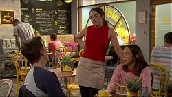 Josh Willis, Paige Novak, Imogen Willis in Neighbours Episode 7259