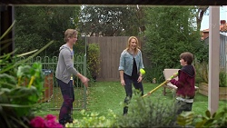 Daniel Robinson, Steph Scully, Jimmy Williams in Neighbours Episode 7259