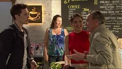 Josh Willis, Paige Novak, Doug Willis in Neighbours Episode 7260