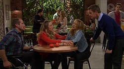 Toadie Rebecchi, Sonya Mitchell, Steph Scully, Paul Robinson, Aaron Brennan in Neighbours Episode 7260
