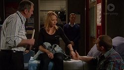 Karl Kennedy, Steph Scully, Paul Robinson, Toadie Rebecchi in Neighbours Episode 7260