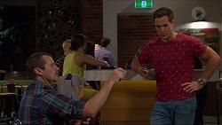 Toadie Rebecchi, Aaron Brennan in Neighbours Episode 7261