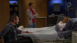 Toadie Rebecchi, Aaron Brennan, Steph Scully in Neighbours Episode 7261