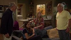 Doug Willis, Paige Novak, Amber Turner, Lou Carpenter in Neighbours Episode 7261