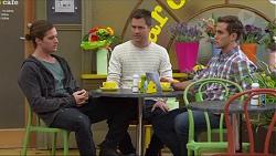 Tyler Brennan, Mark Brennan, Aaron Brennan in Neighbours Episode 7261