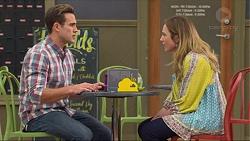 Aaron Brennan, Sonya Mitchell in Neighbours Episode 7262