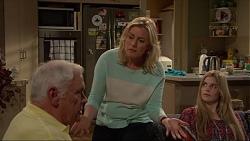 Lou Carpenter, Lauren Turner, Amber Turner in Neighbours Episode 7262
