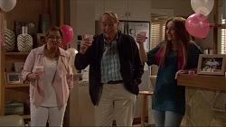 Terese Willis, Doug Willis, Piper Willis in Neighbours Episode 7262