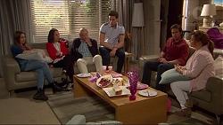 Piper Willis, Imogen Willis, Doug Willis, Josh Willis, Brad Willis, Terese Willis in Neighbours Episode 7262