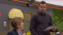 Daniel Robinson, Nate Kinski in Neighbours Episode 7262