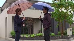 Daniel Robinson, Nate Kinski in Neighbours Episode 7263