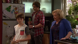 Jimmy Williams, Kyle Canning, Sheila Canning in Neighbours Episode 7263