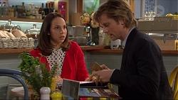 Imogen Willis, Daniel Robinson in Neighbours Episode 7263