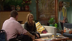 Toadie Rebecchi, Steph Scully, Sonya Mitchell in Neighbours Episode 7263