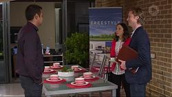 Nate Kinski, Imogen Willis, Daniel Robinson in Neighbours Episode 7263