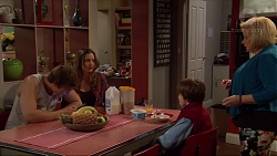 Kyle Canning, Amy Williams, Jimmy Williams, Sheila Canning in Neighbours Episode 7264