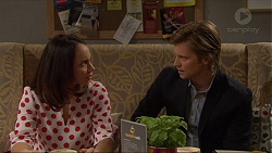 Imogen Willis, Daniel Robinson in Neighbours Episode 7264