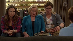 Amy Williams, Sheila Canning, Kyle Canning, Jimmy Williams in Neighbours Episode 7264