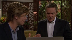 Daniel Robinson, Paul Robinson in Neighbours Episode 7264