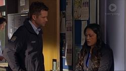 Mark Brennan, Michelle Kim in Neighbours Episode 7265