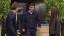 Tyler Brennan, Mark Brennan, Paige Smith in Neighbours Episode 7265