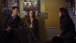 Mark Brennan, Paige Smith, Michelle Kim in Neighbours Episode 7265